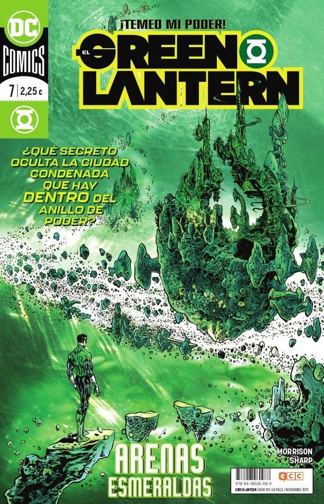 El Green Lantern 7 Grant MORRISON