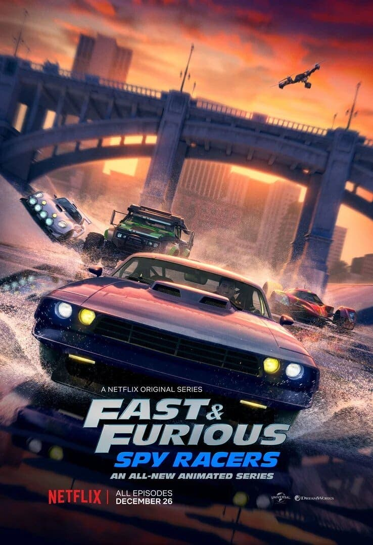 Poster de Fast & Furious: Spy Racers de Netflix