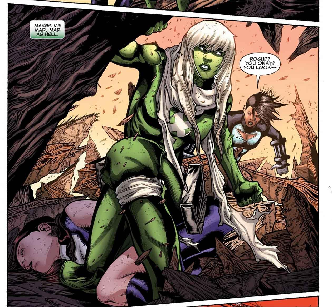 Rogue she-hulk