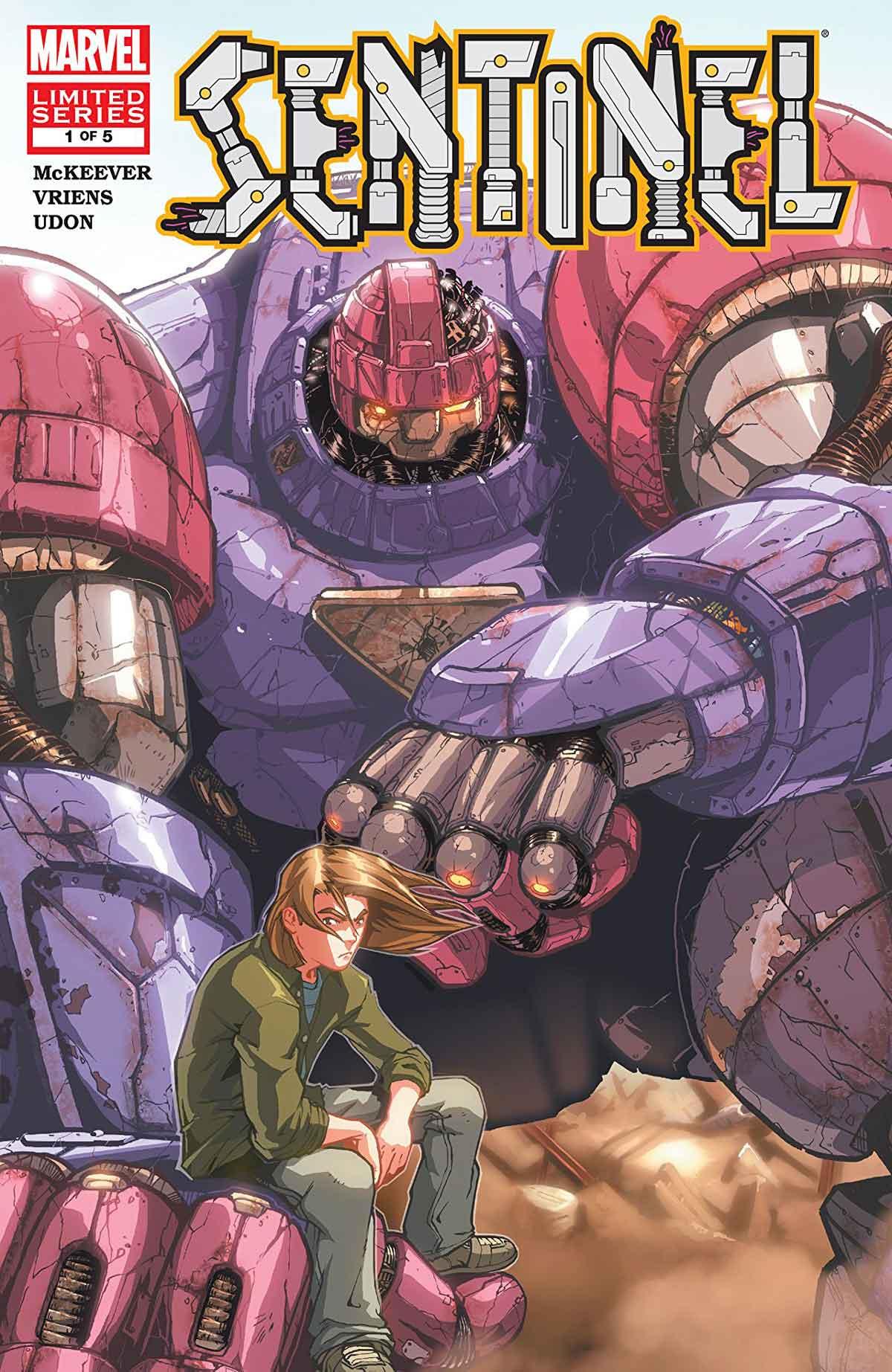 niveles de poder mutante Sentinel de Sean McKeever y Udon