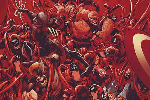 Marvel absolute carnage 5 portada