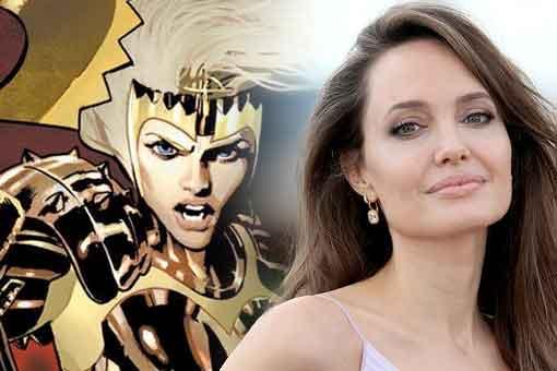 Filtran imágenes de Los Eternos de Marvel con sus trajes de superhéroes
