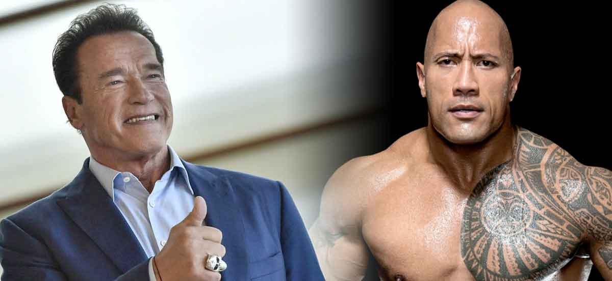 Danny DeVito compara a The Rock con Arnold Schwarzenegger