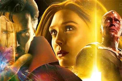 Bruja Escarlata y Vision tendrán gemelos, con la ayuda del Doctor Strange