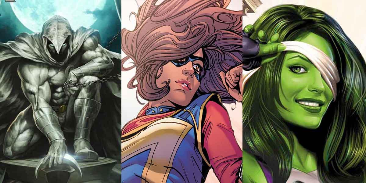 3 personajes darán el salto de las series a las películas de Marvel