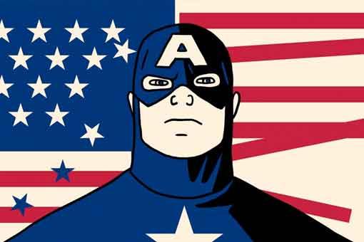 Capitán América martillo de Thor