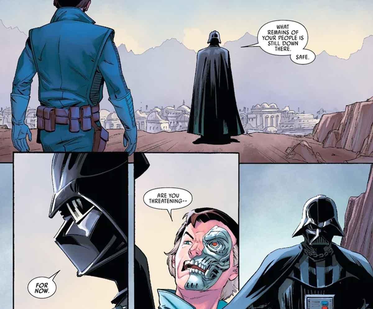 Star Wars revela la protección Cyborg secreta de Darth Vader