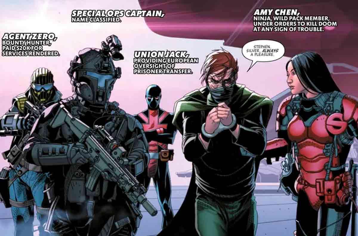 Doctor Doom detenido por crímenes que no ha cometido