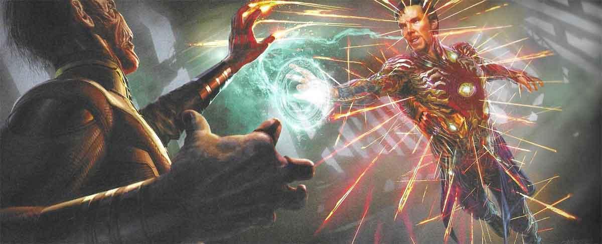 Doctor Strange pudo llevar la armadura de Iron Man en Vengadores: Infinity War
