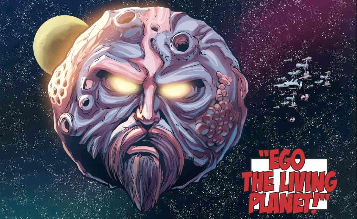 Marvel revela el verdadero origen de EGO, el planeta viviente