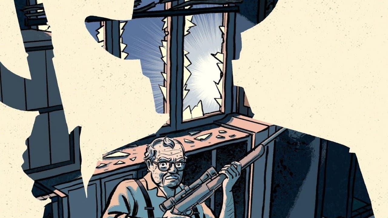 El viejo y el narco. Una historia real que Arturo Pérez-Reverte narró inspira un cómic duro, áspero, sobre héroes y hombres.