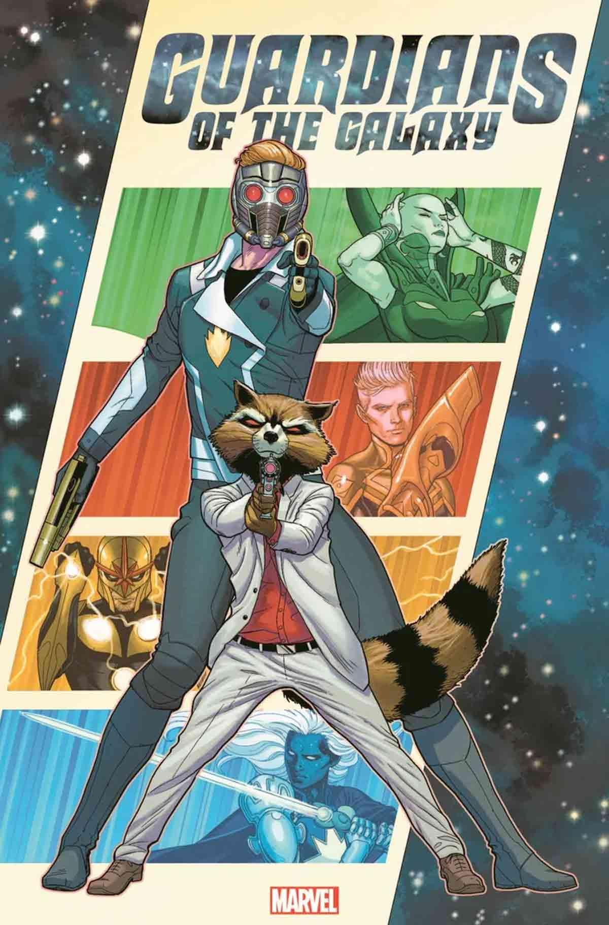 El reinicio de los Guardianes de la Galaxia tendrá dos líderes