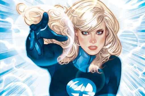 Marvel otorga un nuevo poder a la Mujer Invisible de los cuatro fantásticos
