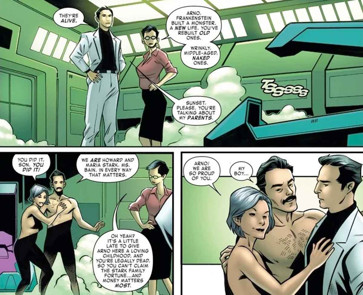 Marvel resucita a los padres de Iron Man