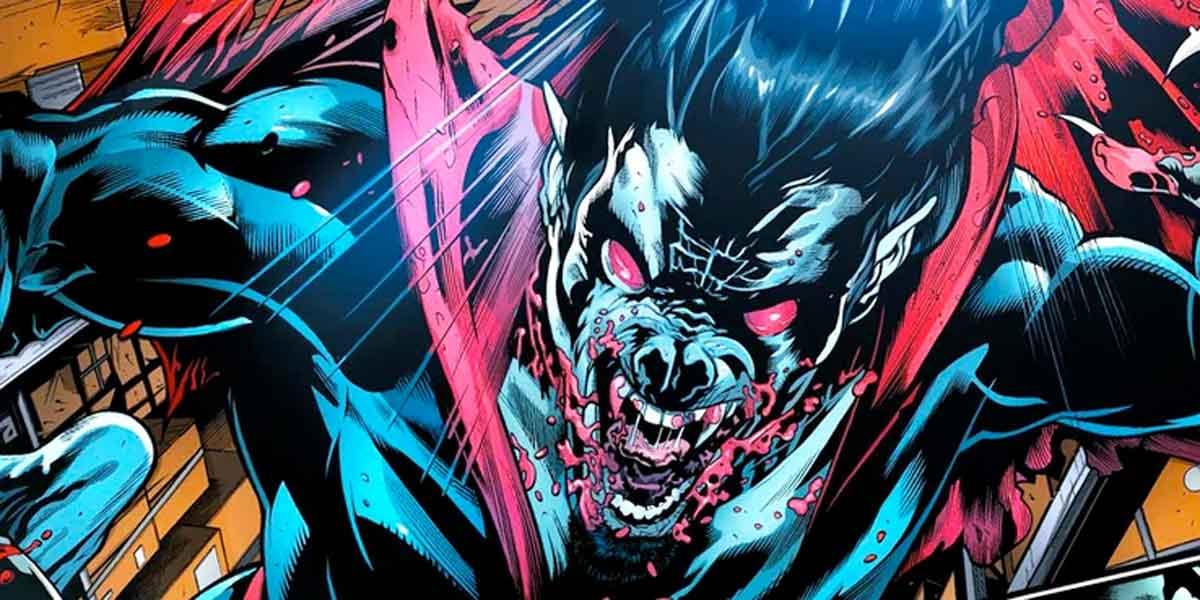 Marvel cambia a Morbius, el vampiro viviente de forma muy sangrienta