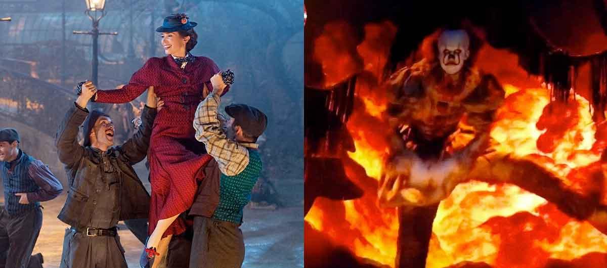 Pennywise de IT es la versión malvada de Mary Poppins