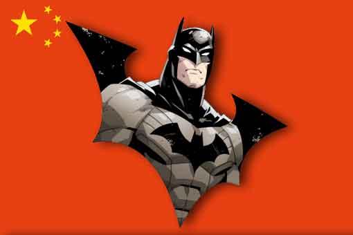 Polémica en China con un póster de Batman