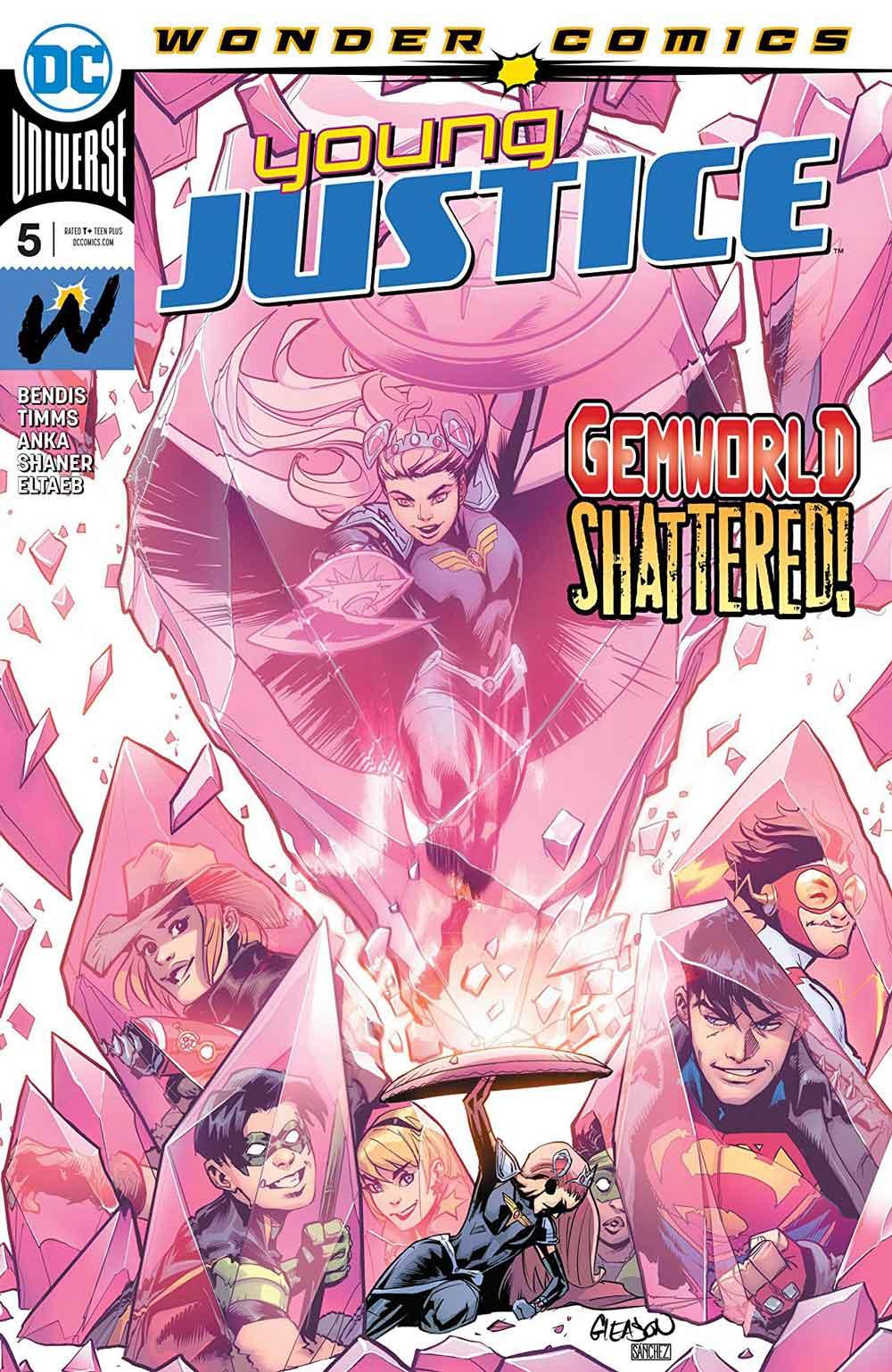 portada Young justice 5 DC Comics