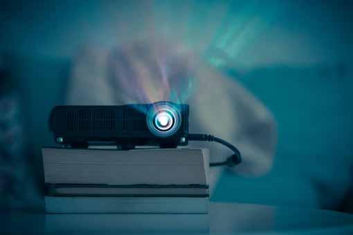 proyectores de cine en casa