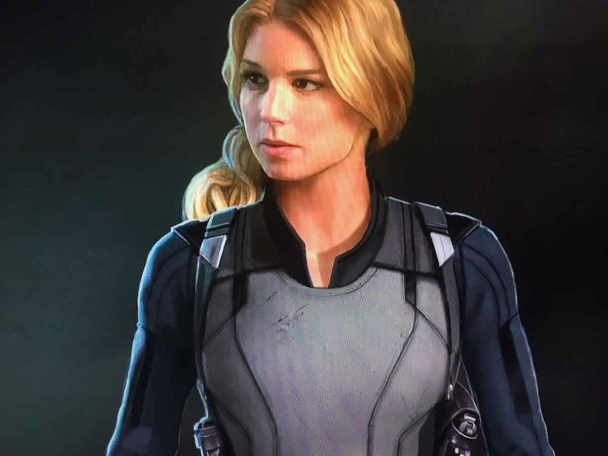 Sharon Carter agente 13 en The Flacon and the Winter Soldier