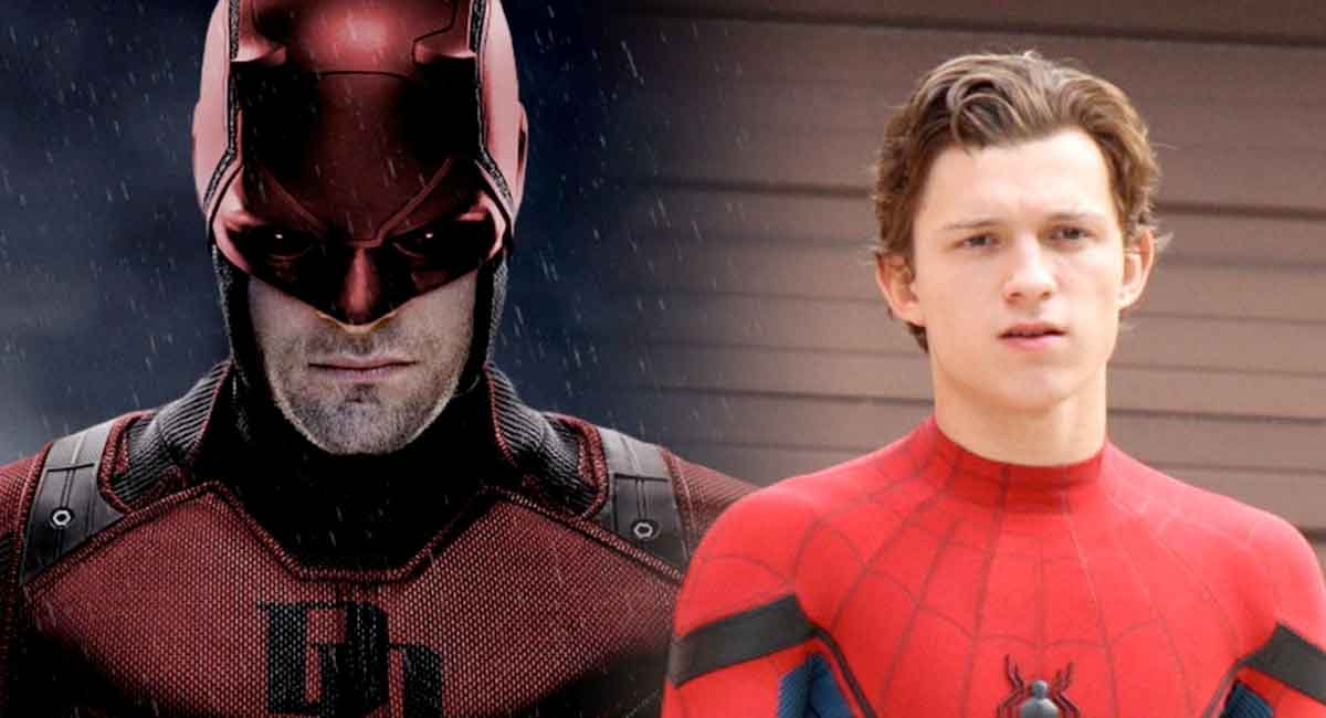 Espectacular Fan póster de Spider-man 3 con Daredevil