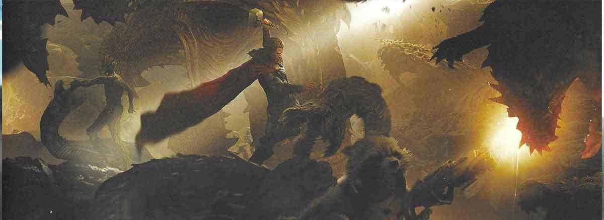 Dios del Trueno, Rocket y Groot