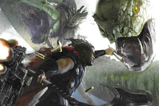 Thor iba a enfrentarse a esta serpiente en Vengadores: Infinity War