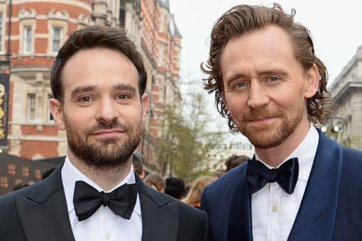 Tom Hiddleston y Charlie Cox se disfrazan de Daredevil y Loki