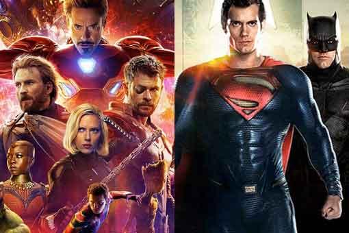 La gente prefiere Marvel en el cine y DC Comics en casa