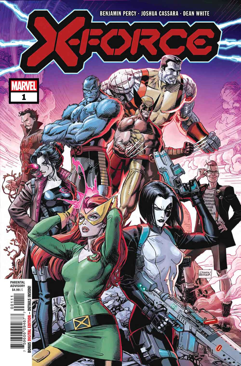 x-force N1 Marvel