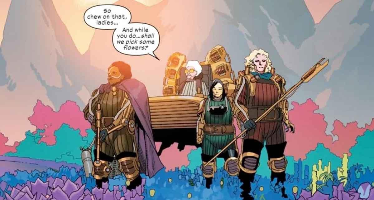 Marvel revela cuatro nuevas villanas de los X-Men