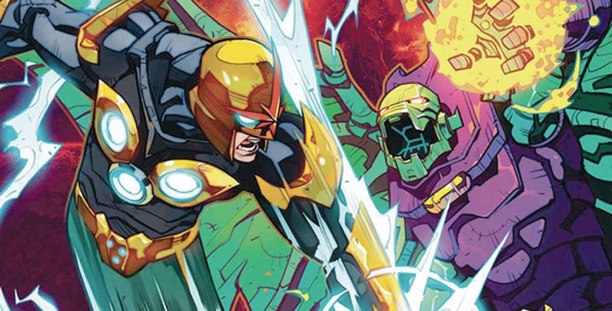 Nova (Richard Rider) tiene que hacer equipo con su peor enemigo