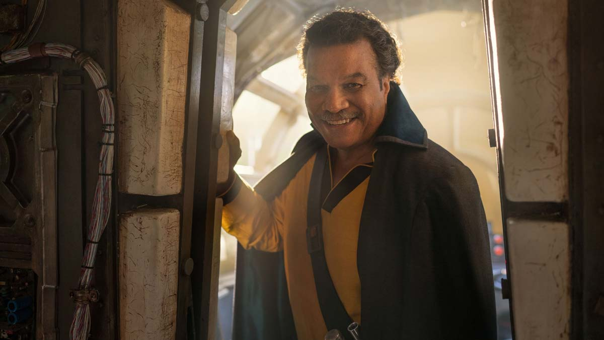 Billy Dee Williams star wars: el ascenso de skywalker