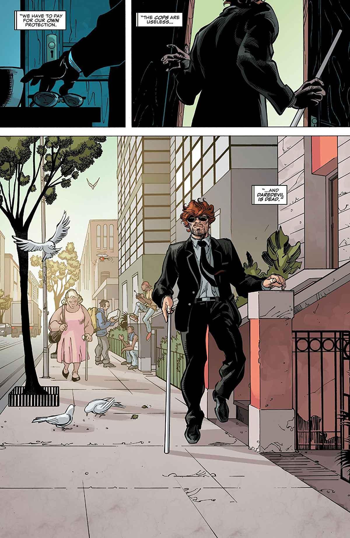 Matt Murdock en Daredevil 4 viñeta