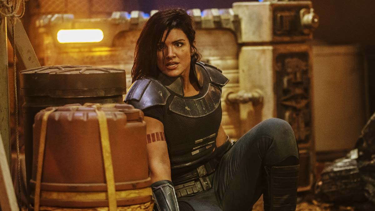 Gina Carano star wars The mandalorian