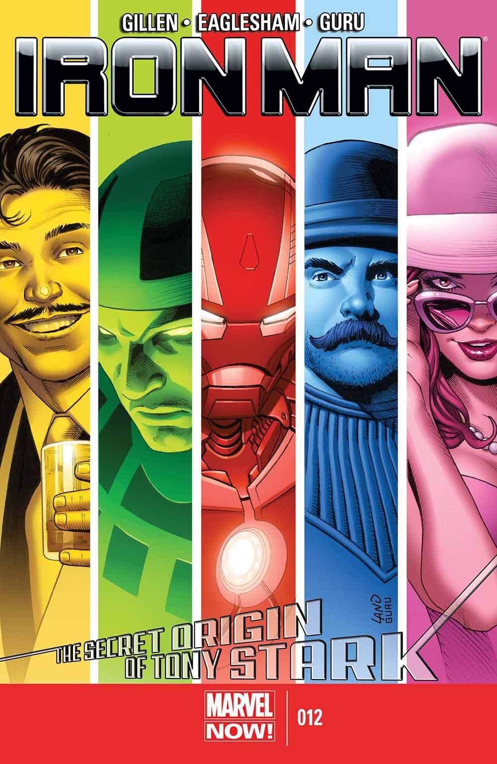 Iron Man de Kieron Gillen 2 El origen secreto de Tony Stark