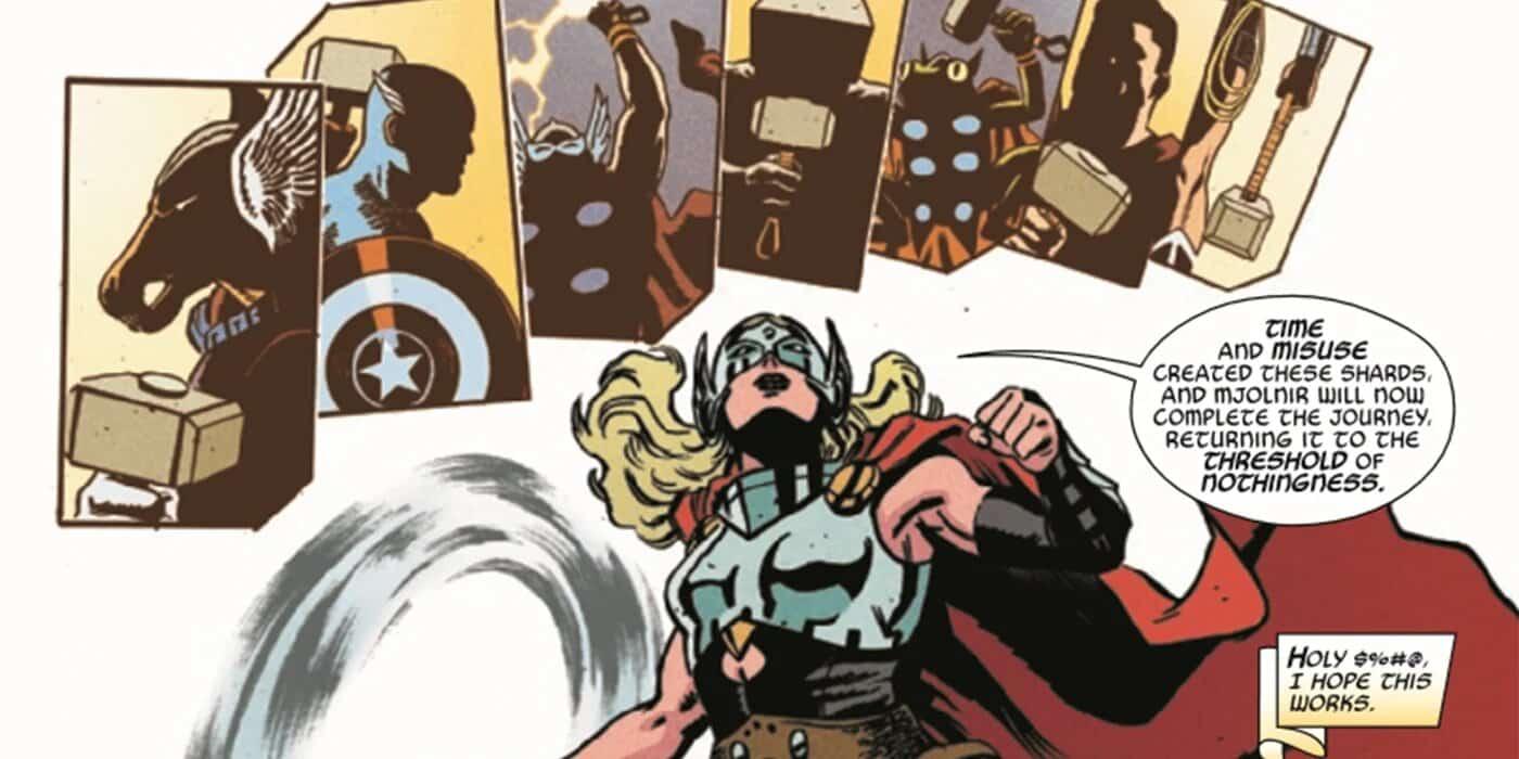 Jane Foster Thor Superman Wonder Woman