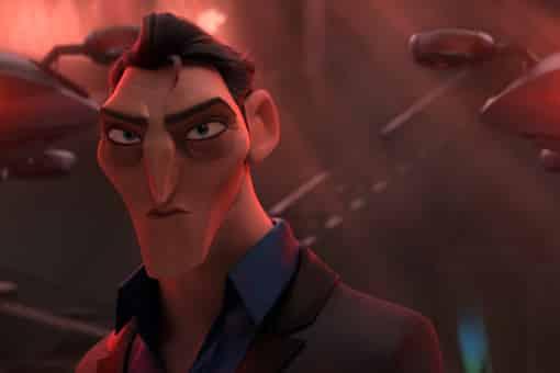 Killian villano de Espías con disfraz (Spies in disguise)