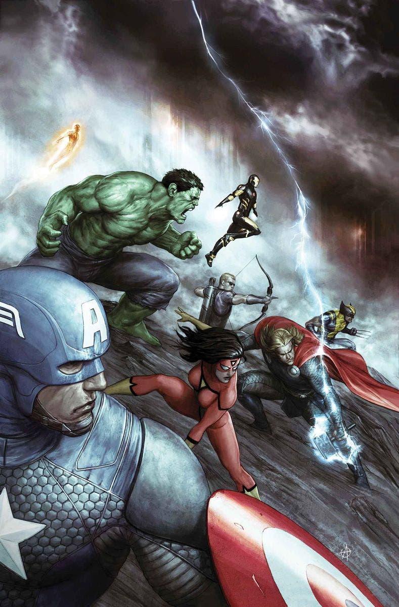 Marvel Now Deluxe Los Vengadores de Jonathan Hickman