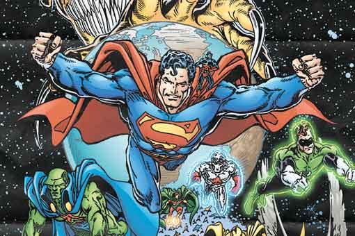 ¡invasión! DC Comics