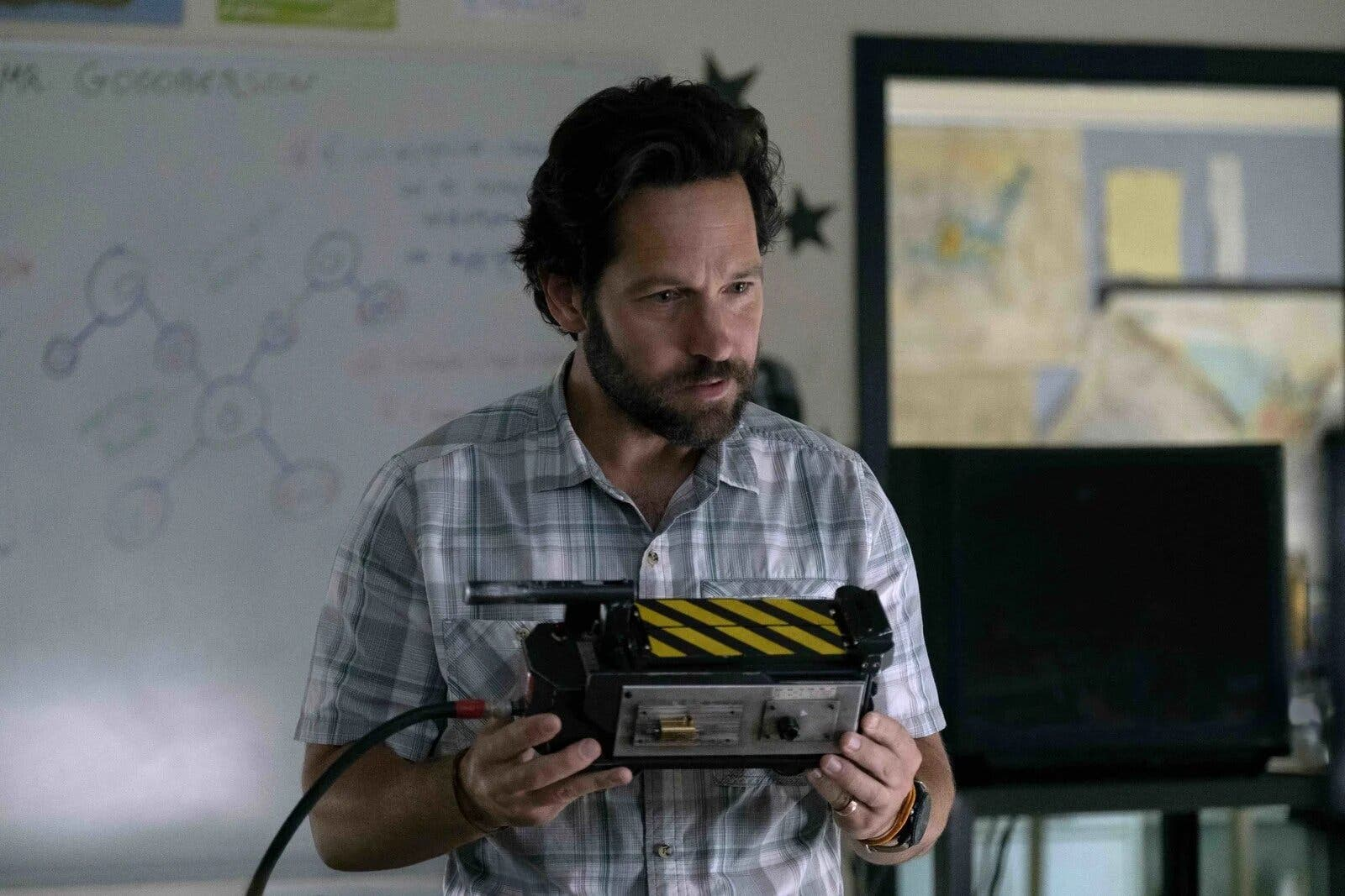 Paul Rudd en Ghostbuster: Afterlife