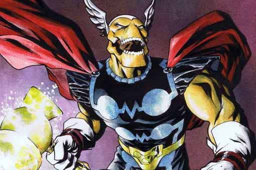 Vengadores: Endgame. El guion confirma la existencia de Beta Ray Bill