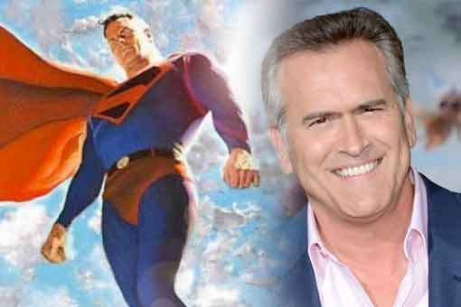 Bruce Campbell quiere interpretar a Superman