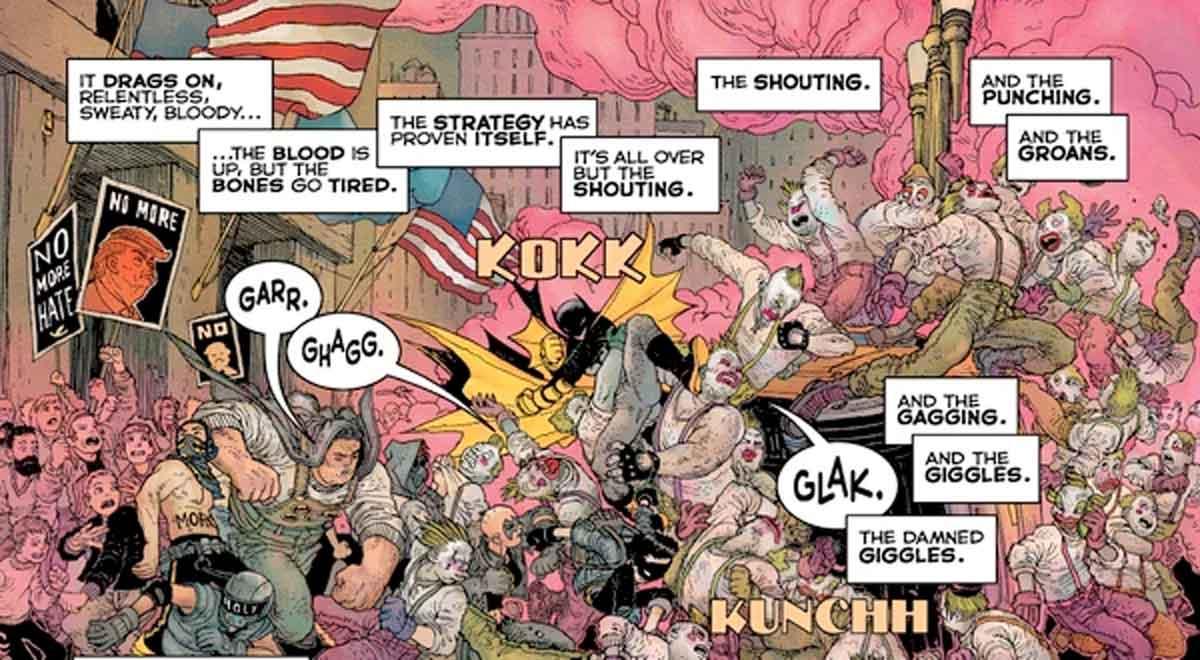 Joker y Darkseid hacen campaña por Donald Trump