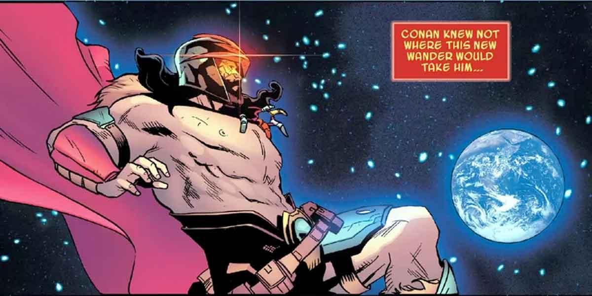 Marvel convierte a Conan el Bárbaro en cósmico