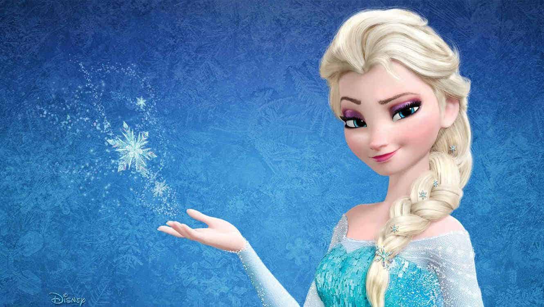 Top Princesas Disney - 7. Elsa Frozen