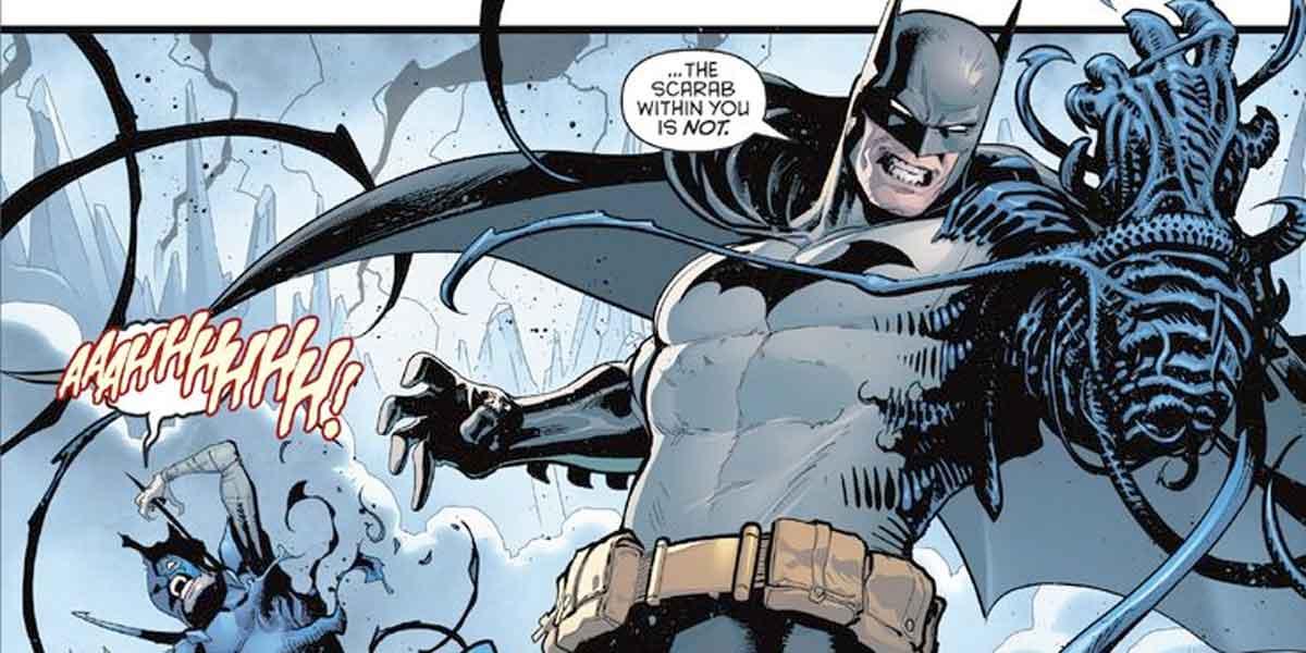 Batman se convierte en el nuevo Escarabajo Azul (Blue Beetle)