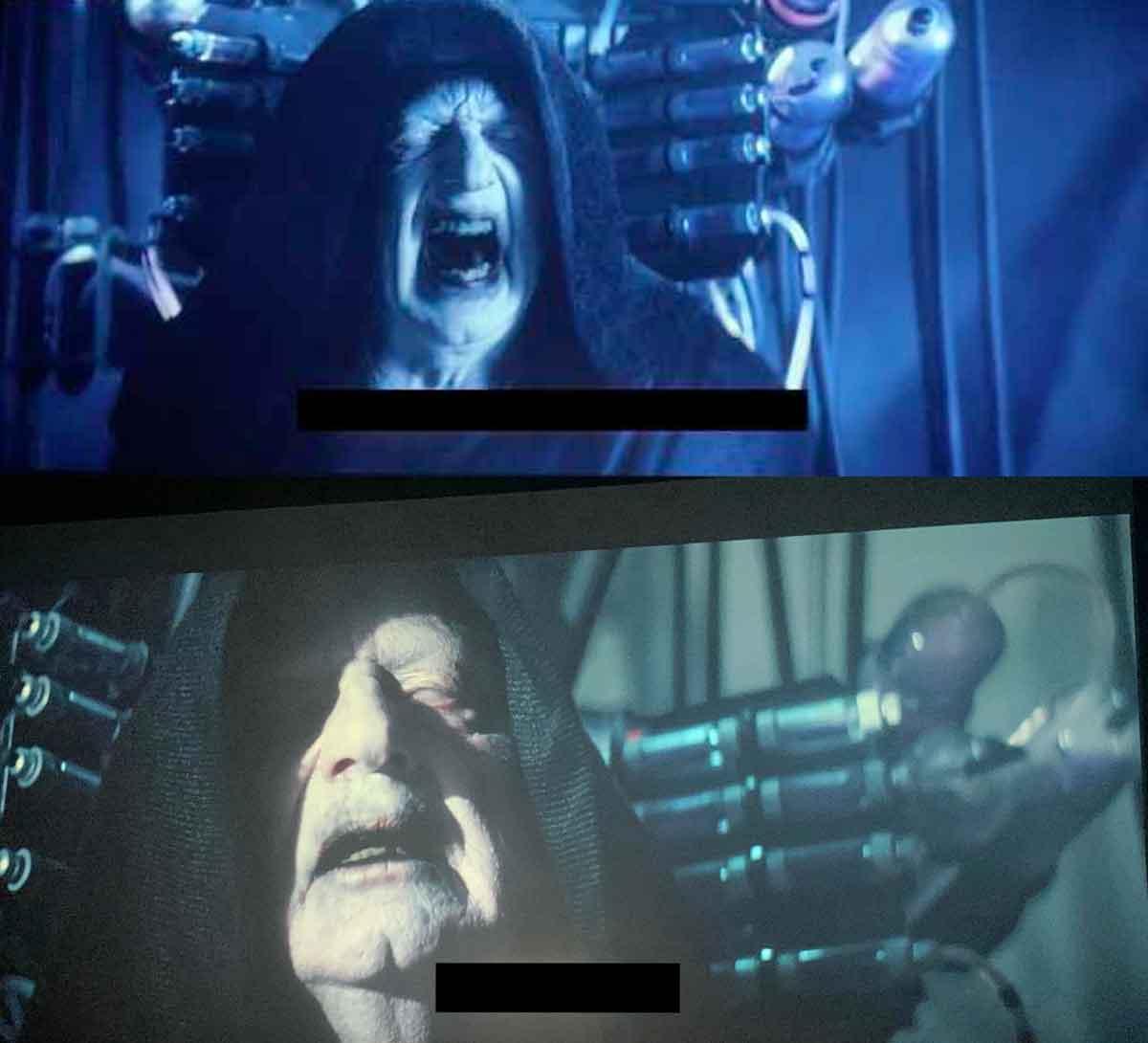 Filtran una imagen del Emperador en Star Wars: El ascenso de Skywalker