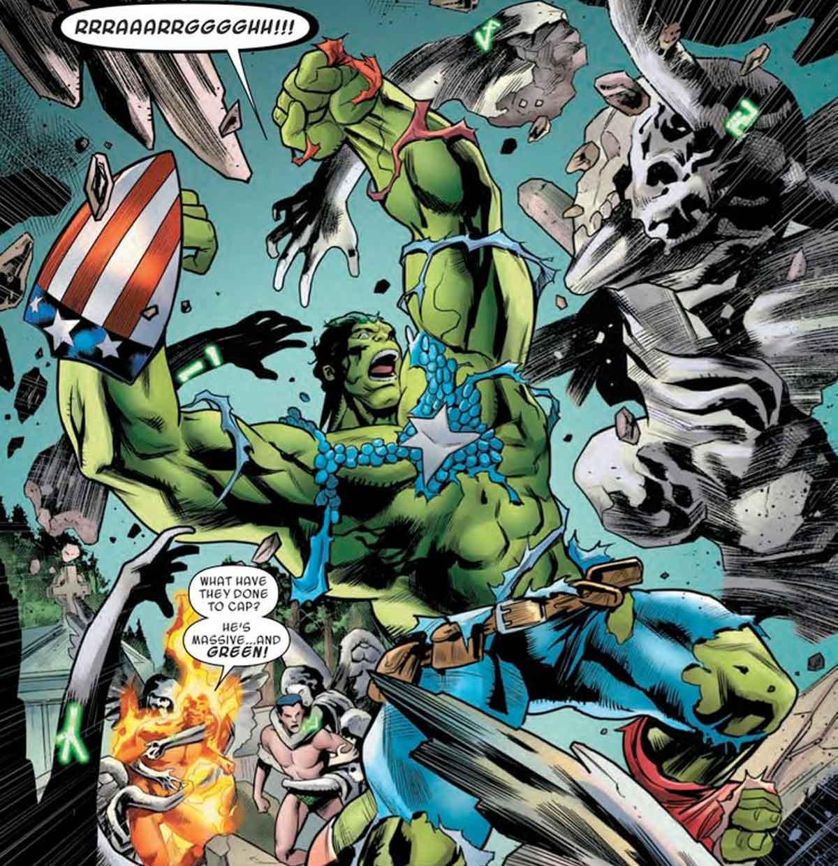 Dos Vengadores se fusionan en un poderos héroe