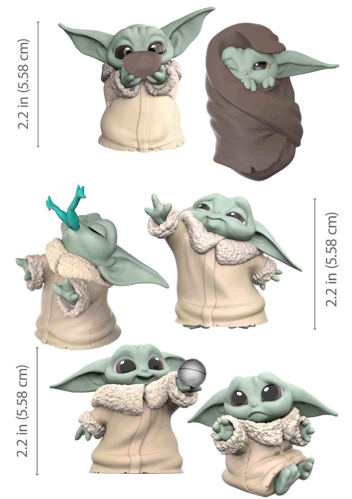 Star Wars revela los primeros juguetes de Baby Yoda ¡Son adorables!